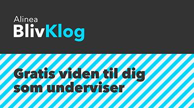 Få inspiration til din undervisning på blivklog.dk