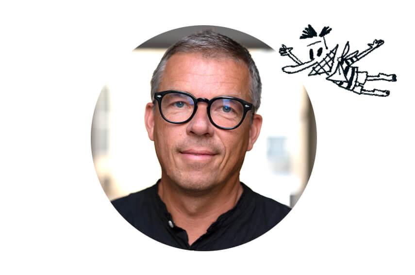 Forfatter Kenneth Jakobsen Bøye